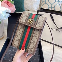 GUCCI retro mini phone bag coin purse bag
