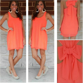Summer hot chiffon sundress
