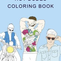 Hot Dudes Coloring Book (Colouring Books) (Paperback)