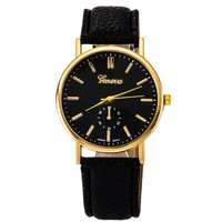 Hot Vintage Fashion Quartz Classic Watch Round Ladies Women Men wristwatch On Sales = 4673103684