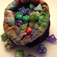 A Cosmos To Call Home - Flat Bottom D20 Dice Bag