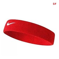 NIKE Fashion New Hook Women Men Sports Fitness Leisure Running Headband 6#