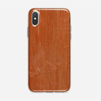 Eco Friendly Wood iPhone XS Case