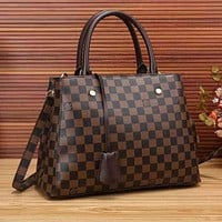 Louis Vuitton LV Women Shopping Bag Leather Tote Crossbody Satchel Shoulder Bag Handbag