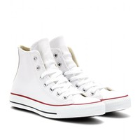 mytheresa.com -  CHUCK TAYLOR ALL STAR LEATHER HIGH-TOP SNEAKERS - Luxury Fashion for Women / Designer clothing, shoes, bags