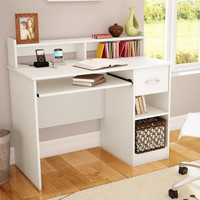 South Shore Axess Computer Desk with Keyboard Drawer & Reviews | Wayfair
