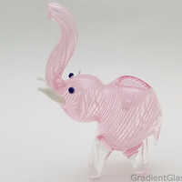 Pink Elephant Animal Pipe
