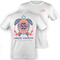 Simply Southern: Sea Turtle White