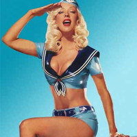 JILL Sailor Top, LIZZIE Belted Shorts & MARLENE Side Cap available as a complete set