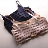 Wireless Padded Bra Top  Underwear B0013954