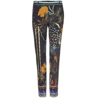 etro - printed trousers