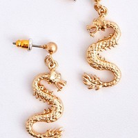 Dragon Drop Earrings | Urban Outfitters