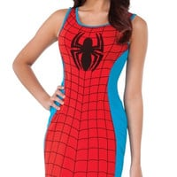 Spiderman Bodycon Tank Dress