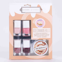 Cinnamon Roll Nail Polish Set