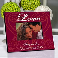 Personalized Valentine's Day Date Frame