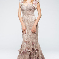 KC14225 Lace Prom Dress Pageant or Mother of Bride by Kari Chang Couture