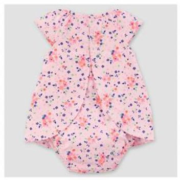 Baby Girls' Floral Sunsuit Light Pink - Just One You™ Made by Carter's®