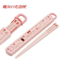 Strapya World : Studio Ghibli Kiki's Delivery Service Chopsticks and Sliding Case Set【Kiki'sBento】
