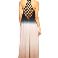 Ombre Twine Maxi Dress
