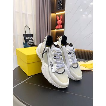 FENDI Woman's Men's 2021 New Fashion Casual Shoes Sneaker Sport Running Shoes0416qh