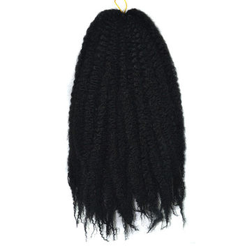 Caterpillar Wig Braid Fluffy Afro Hair Extension    1#
