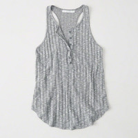 Womens Cozy Henley Tank | Womens New Arrivals | Abercrombie.com