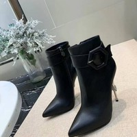 PP  Women Casual Shoes Boots  fashionable casual leather