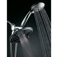 Ultra-Luxury 24 Setting 3-Way Rainfall/Handheld Shower Head Combo