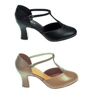 So Danca CH98 T-Strap Character Shoe. - Dancing in the Street