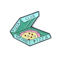 Pizza Club Pin - Mint