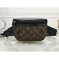 LV x GUCCI hot selling casual lady shoulder bag hot selling printed Mosaic color shopping bag #1