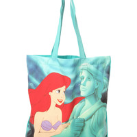 Disney The Little Mermaid Ariel Erics Statue Tote Bag