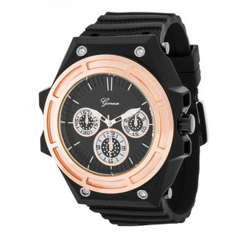 Men's Chronograph Sports Watch - Rose