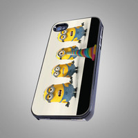Despicable The Minions - AF003 - Design on Hard Cover - iPhone 4 / 4S Case, iPhone 5 Case
