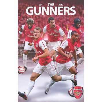 Arsenal FC The Gunners Soccer Team All-Stars Poster 24x36
