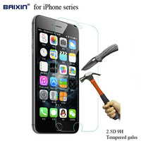 0.26mm 9H tempered glass screen protector For iphone 4s 5 5s SE 6 6s plus protective film front cover case 6plus