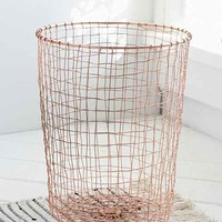 Cabo Copper Wastebasket- Bronze One