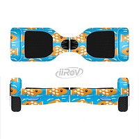 The Seamless Vector Gold Fish Full-Body Skin Set for the Smart Drifting SuperCharged iiRov HoverBoard
