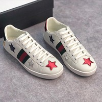 GUCCI simple all-match low-top flat sneakers shoes