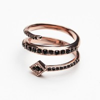 Free People Diamond Kite Coil Ring