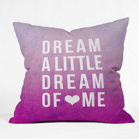 Deny Designs Dream Throw Pillow Pink One Size For Women 23687935001