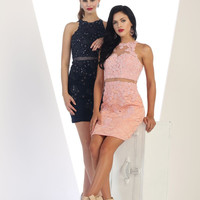 TheDressOutlet Prom Short Cocktail Party Dress Homecoming