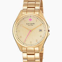 Kate Spade Seaport Grand Watch Gold ONE