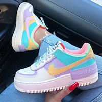 Nike Air Force 1 Shadow AF1 Women's splicing shoes