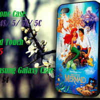 The Little Mermaid The Movie iPhone 4 4S 5 5S 5C , iPod Touch 4 5 and Samsung Galaxy S3 S4 Case