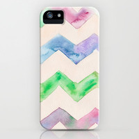 California Style Chevron iPhone & iPod Case by Catherine Holcombe