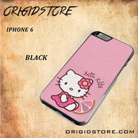 Hello Kitty Pink Lemon For Iphone 6 Case - Gift Present Multiple Choice