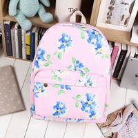 Canvas Soft Casual Korean Backpack = 4887924932