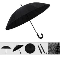 Fashion umbrella Water Activated Flower appeared once wet Windproof Princess Novelty Umbrella Black