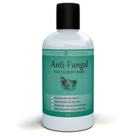 Antifungal Soap with Tea Tree Oil, Helps Treat & Wash Away Athletes Foot, Ringworm, Nail Fungus, Jock Itch, Body Odor & Acne. Antibacterial Defense Against Common Fungal and Bacteria Related Skin...